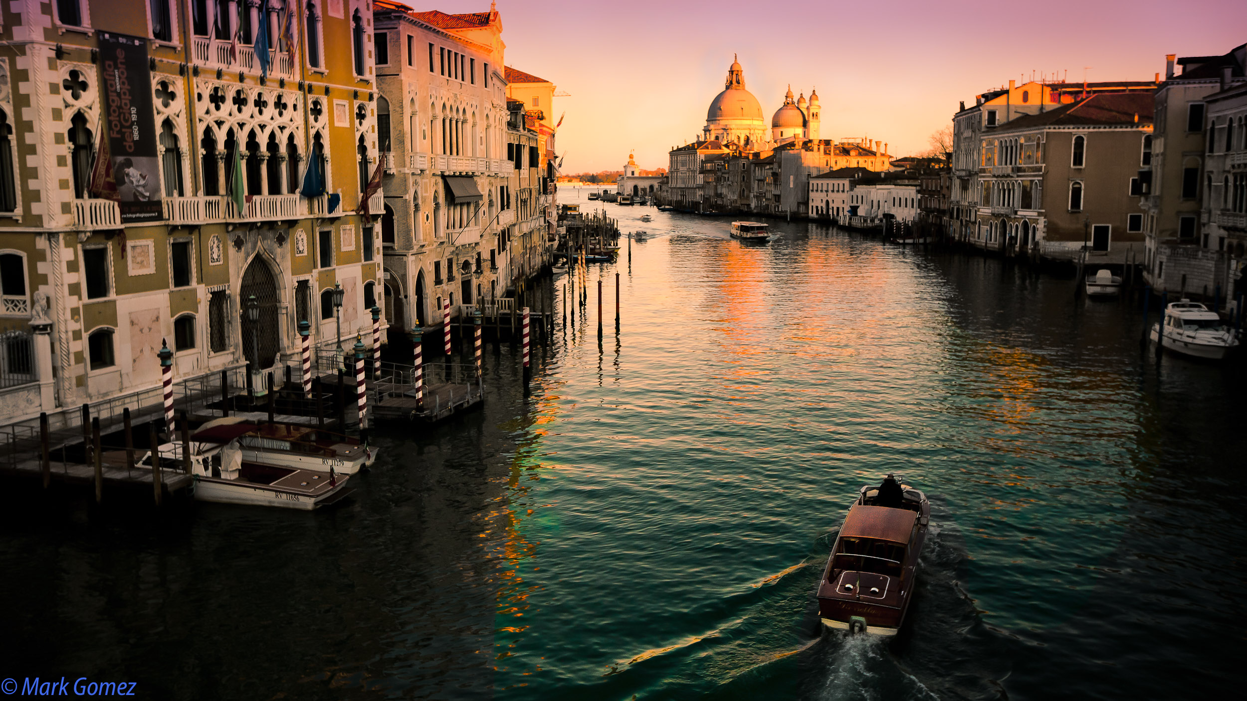 Italy Photo Tour - Venice Grand Canal